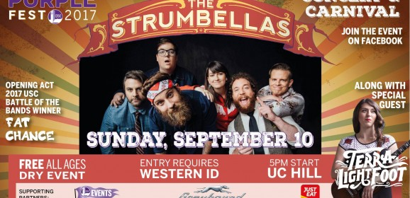 Purple Fest 2017 Concert and Carnival ft. The Strumbellas