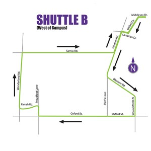 Airport Shuttle Service - Route B