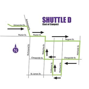 Airport Shuttle Service - Route D