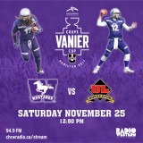 Live Stream of the Vanier Cup