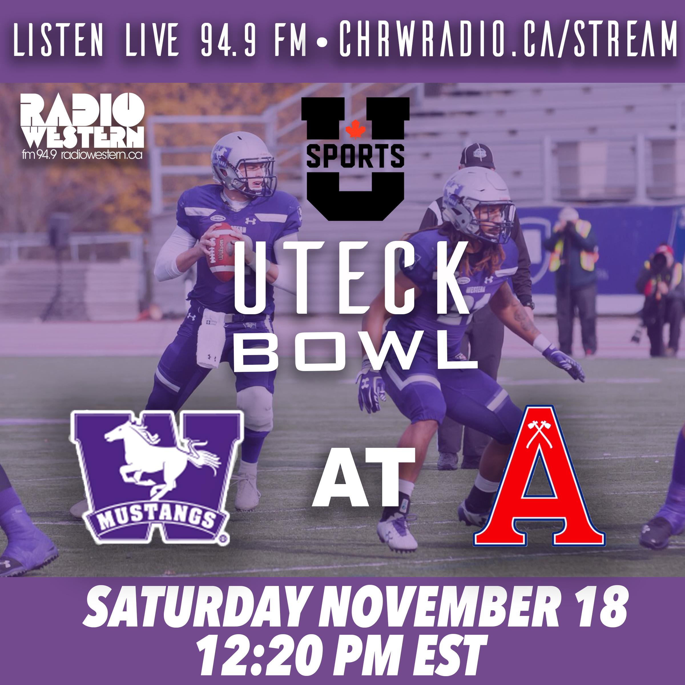 Live Stream of the Uteck Bowl