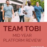 Team Tobi Mid Year Platform Review
