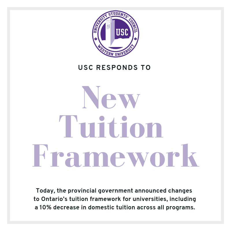 New Tuition Framework response