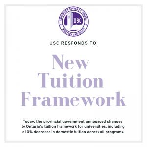 New Tuition Framework response